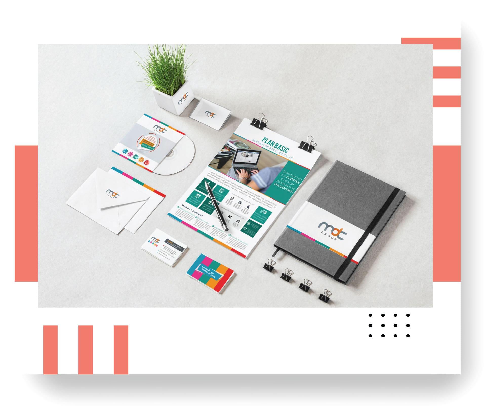 diseño material promocional